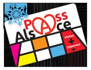 Carte Pass'Alsace avec flocon de neige