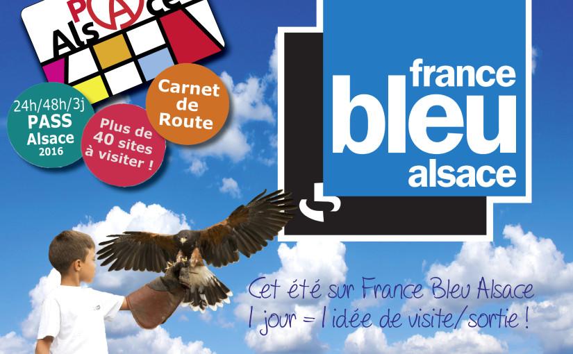 Les lieux touristiques d'Alsace avec France Bleu