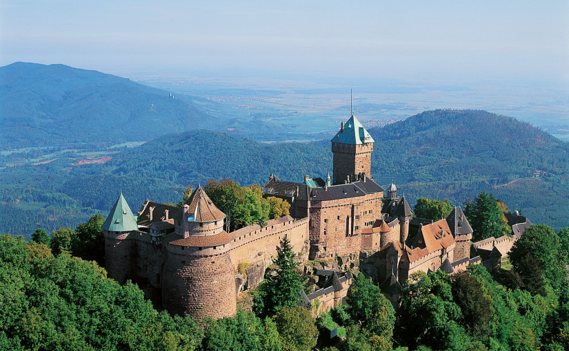 Les Châteaux dans le Pass'Alsace