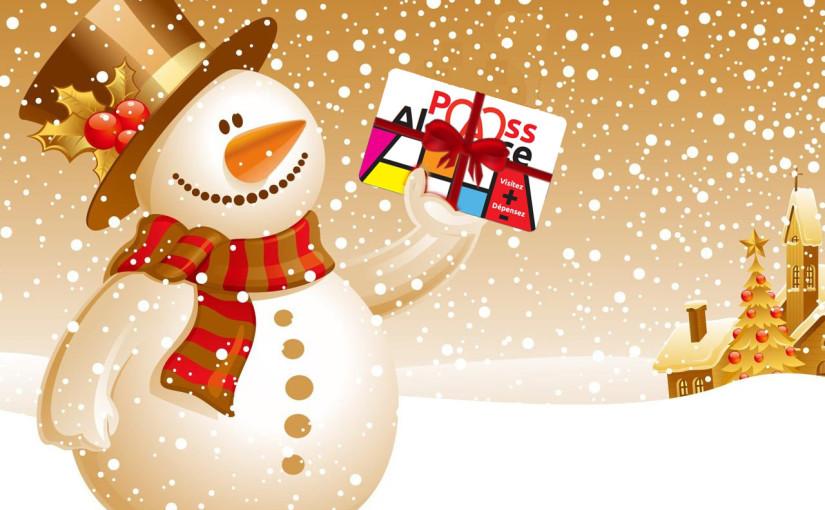 Noël avec le Pass'Alsace - carte cadeau