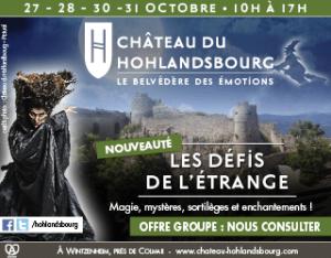 Château du Hohlandsbourg - Les défis de l'étrange Halloween en Alsace 2018