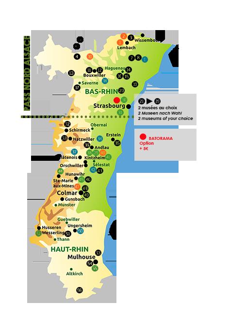 Partenaires du Pass'Alsace 2018