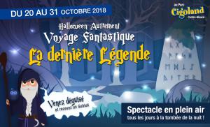 Halloween en Alsace 2018 chez Cigoland 2018
