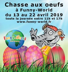 Une chasse aux oeufs à Funny-World !