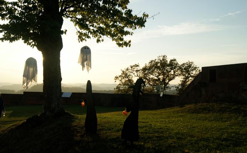 Halloween en Alsace dans un château en 2019