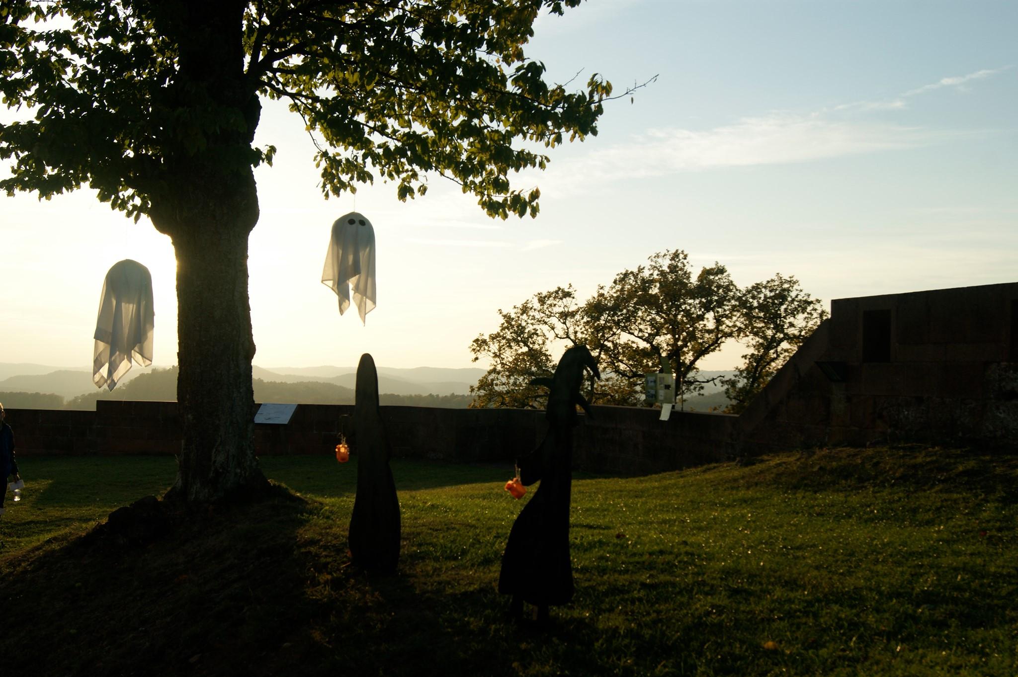 Halloween en Alsace - Château de Lichtenberg