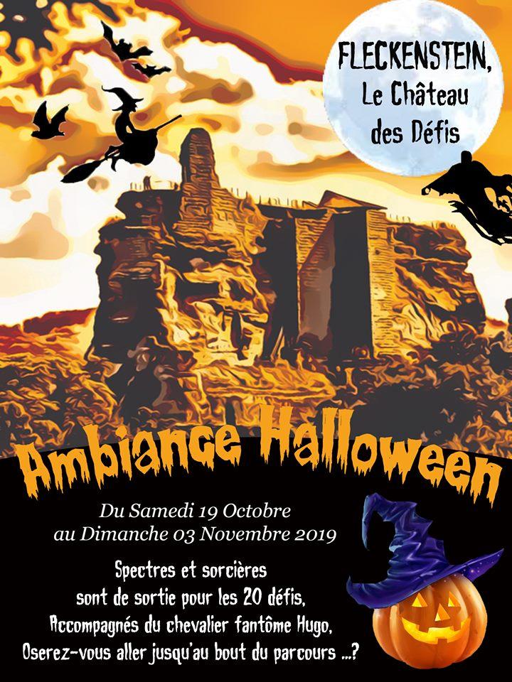 Halloween en Alsace - Château fort de Fleckenstein