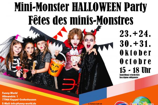 Les Fêtes des Mini-Monstres à Funny-World