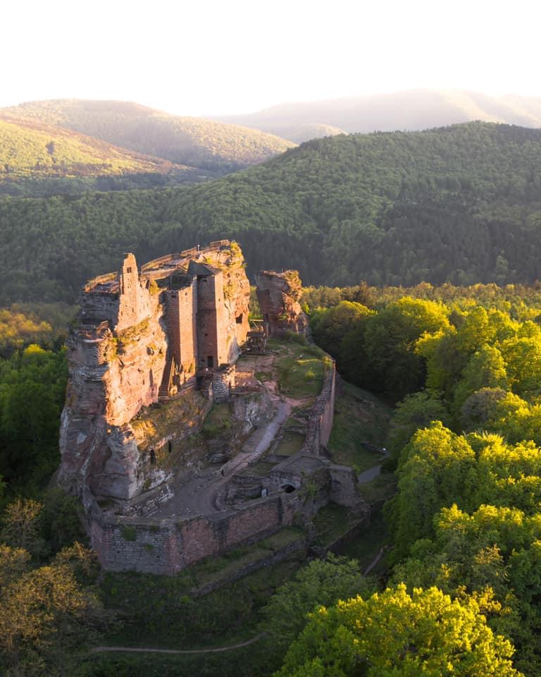 Cédric Schell Photographie - Château fort de Fleckenstein à Lembach en Alsace du Nord